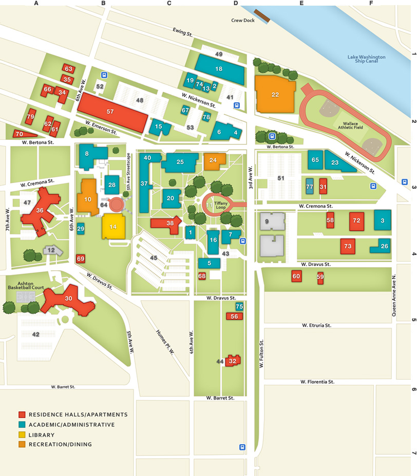 seattle pacific university campus map Wright Images Table Of Contents seattle pacific university campus map